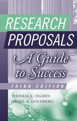 Research Proposals By Ogden, Thomas E./ Goldberg, Israel A.